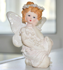 Porcelain figure of the little girl