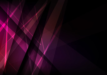 Abstract background with bright colored lines. Geometric vector illustration.
