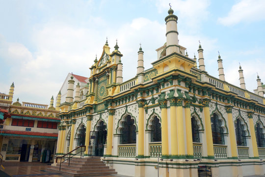 シンガポール リトルインディア マスジッドアブドゥルガフール モスク Singapore Little India Masjid Abdul Gahul Mosque