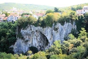 canyon in Pazin, Istria, Croatia