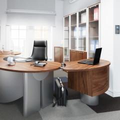 Modernes Chefbüro (Focus)