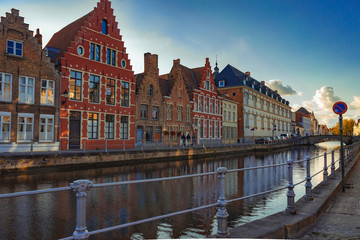 The canals of Brugges