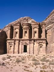 The Ed-Deir grave in Petra.