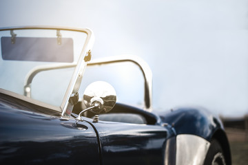 Fond de hotte en verre imprimé Vintage voitures Beautiful classic vintage sport car