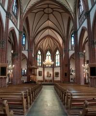 catholic church cathedral interior decoration