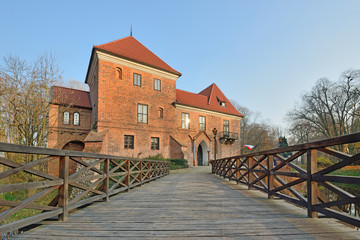 Obraz Zamek w Oporowie - fototapety do salonu