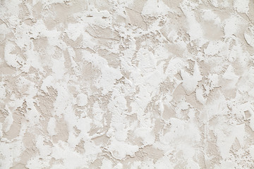 Wall Mural - White decorative relief stucco pattern