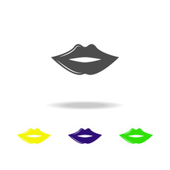lips multicolored icon. Element of popular lips multicolored icon. Premium quality graphic design. Can be used for web, logo, mobile app, UI, UX