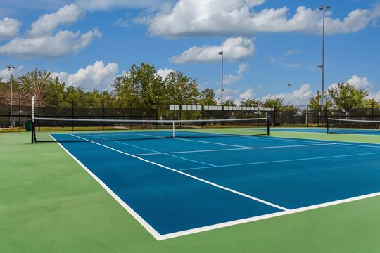 Tennis Court from Corner