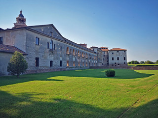 Italy, Mantua, new court of the Ducal Palace.