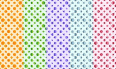 Abstract retro seamless pattern. Simple colorful ornament for textile, prints, wallpaper, wrapping paper, web etc. Available in EPS