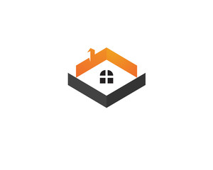Home sweet logo vector