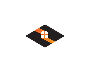Home sweet logo vector
