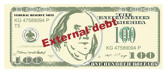 dollar, currency, america, bucks, american dollar, USA, money, stamp, external debt,