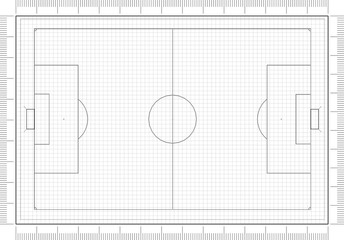 ModelSoccer Field Architect Blueprint