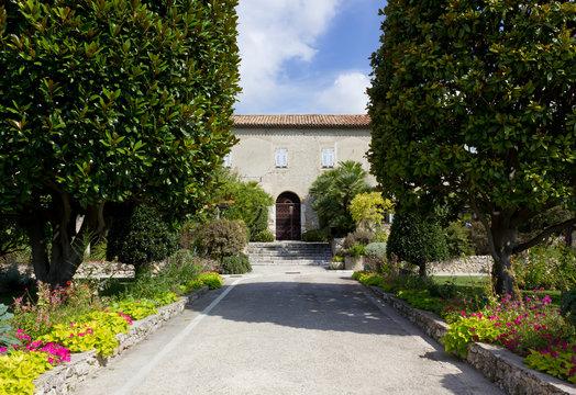 Cimiez Monastery Garden in Nice, France