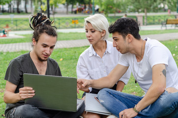 Working Outdoors with Technology