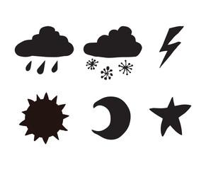 Nature sign. Vector illustration