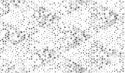 Abstract color geometric pattern. Seamless vector background. White and grey halftone. Graphic modern pattern. Simple lattice graphic design