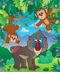 Monkey theme image 2