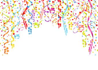 Card Streamers & Confetti Color A4