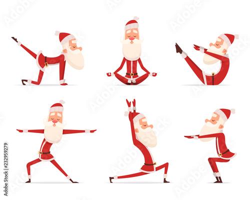 Image result for christmas yoga copyright free