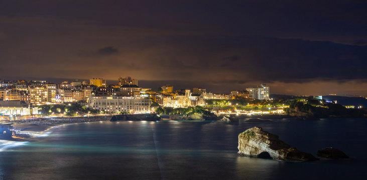 Biarritz de nuit