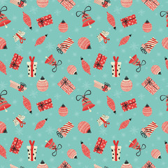 Vector pattern for christmas and holidays.
