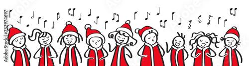 Lustige Weihnachtslieder Texte.Weihnachtschor Sternsinger Chor Weihnachtliche