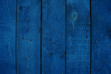 Beautiful wooden blue  background for design, banner and layout.