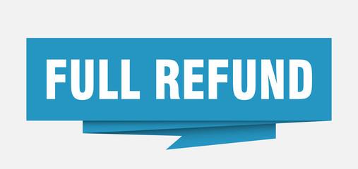full refund
