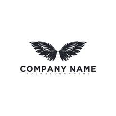Eagle, falcon, bird logo design, Modern Template, Icon Vector