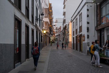 Views of the town of Icod de los Vinos, Tenerife, Canary Islands