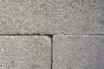 Masonry walls cinder blocks, gray stone, background
