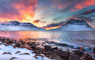 Iceland - Land of Ice & Fire sunset