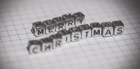 inscription Merry Christmas