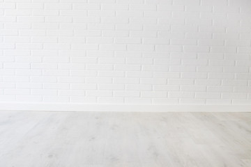 abstract background of white brick wall