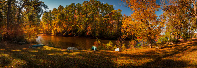 Fall Lake Panorama