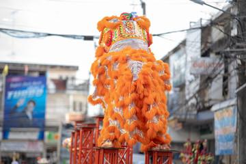 Chinese New Year Dragon Head