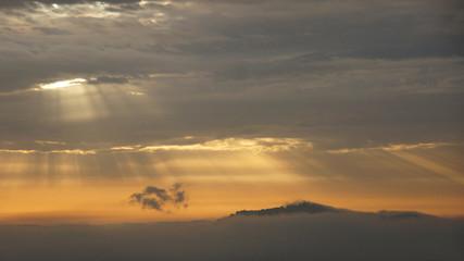 Amöneburg am frühen Morgen