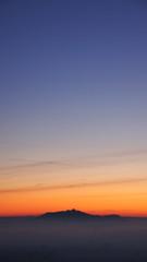 Amöneburg im Sonnenaufgang