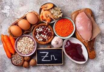 Healthy product sources of zinc.  Papier Peint