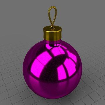 Christmas tree ornament 1