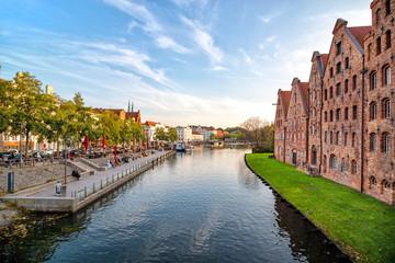 Lübecker Altstadt an der Obertrave