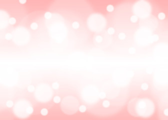 Abstract Blurred pink tone lights background