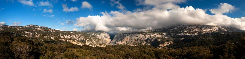 In de dag Canyon Sardegna, canyon di Gorroppu