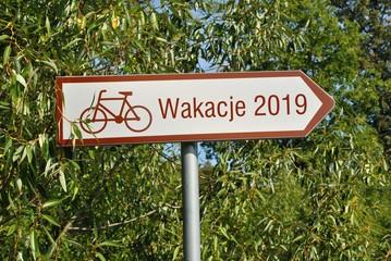 Fototapeta Wakacje 2019 obraz