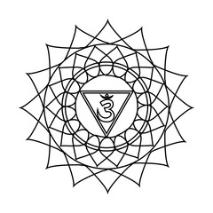 Mandala design. Vector illustration.