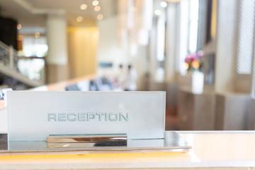 Luxury hotel reception in Pattaya, Thailand