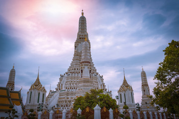 Wat Arun is a tourist attraction of Thailand. It is located in Bangkok, the capital of Thailand. Which is very beautiful.